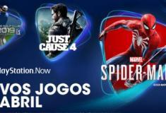 Os novos jogos da Play Station NOW