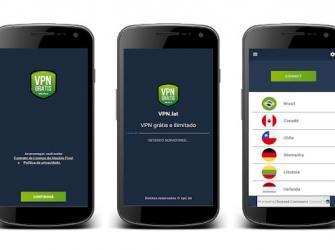 Aplicativos VPN/Proxy grátis para celular Android