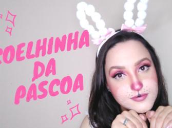 Maquiagem de Coelhinha da Páscoa