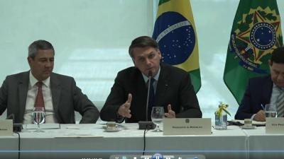 Em reunião, Bolsonaro diz: 'Não posso ser surpreendido com notícias. Pô, eu tenho a PF que não me dá informações'; assista