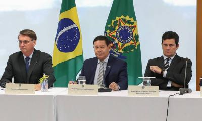 Leia a transcrição do vídeo da reunião citada por Moro como prova de intervenção de Bolsonaro na PF