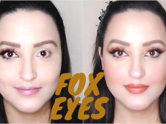 Fox Eyes - Como fazer os olhos do momento