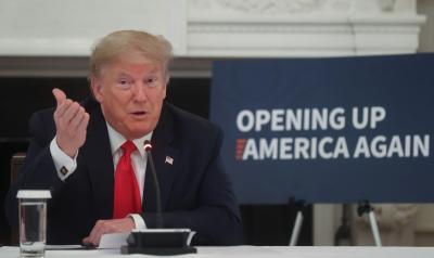 Trump diz que pretende retirar restrições de viagens que atingem o Brasil 'assim que pudermos'