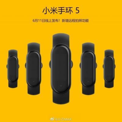 Mi Band 5: pulseira smart da Xiaomi ganha data de lançamento