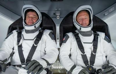 Astronautas falam sobre sua jornada até a ISS a bordo da Crew Dragon