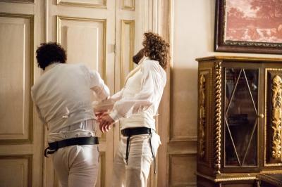 Joaquim conta a Dom Pedro a verdade sobre Domitila e leva soco: 'Não volte nunca mais'
