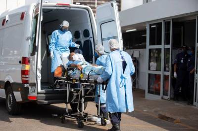 Coronavírus infectou mais de mil profissionais de Saúde e Segurança no DF