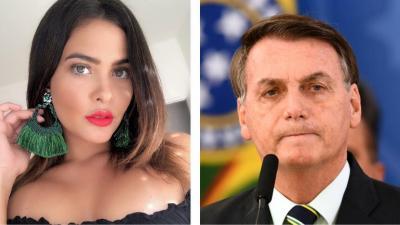 """""""Quero que ele sofra com as mortes"""", dispara Geisy Arruda para Bolsonaro"""