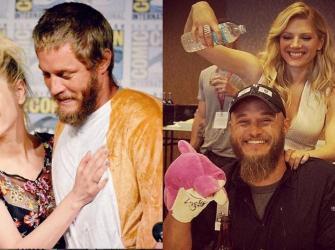 Vikings: Katheryn Winnick revela como foi trabalhar com Travis Fimmel