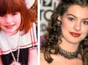 A evolução da aparência das mais belas atrizes de Hollywood