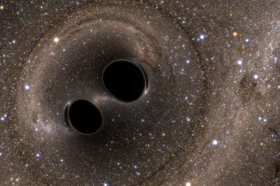 Cientistas podem ter descoberto luz em buraco negro