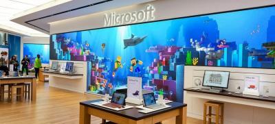 Microsoft vai gastar US$ 450 milhões para fechar todas suas lojas físicas