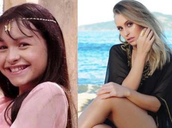 Atrizes brasileiras mirins que cresceram e se tornaram lindas mulheres