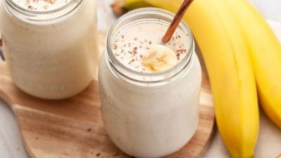 Bebida de banana para extrema perda de peso rápida