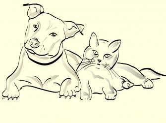 Ideias de tatuagem com tema pets