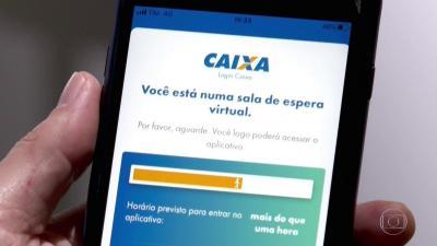 Beneficiários do auxílio emergencial não conseguem pagar contas pelo aplicativo da Caixa
