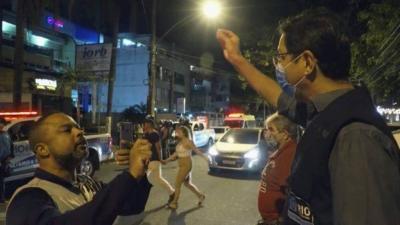 Engenheiro nega ter agredido fiscal da Vigilância Sanitária, em bar da Barra da Tijuca