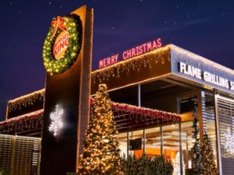 O Natal antecipado em julho do Burger King
