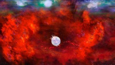 """Cientistas encontram pista de estrela de nêutrons """"escondida"""" há mais de 30 anos"""