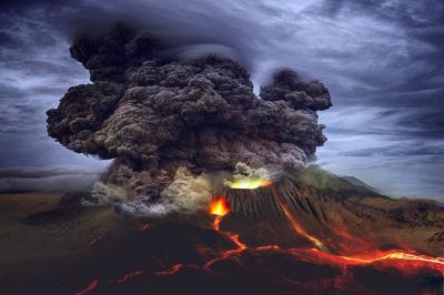 Erupções vulcânicas, e não meteoros, resfriaram a Terra no passado