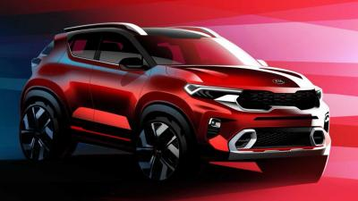Kia Sonet: SUV compacto terá painel de Sorento e será revelado dia 7 de agosto