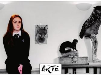 Relato de uma adolescente cujo ofício é empalhar animais mortos