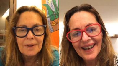 Maria Zilda sobre doença degenerativa da mácula: