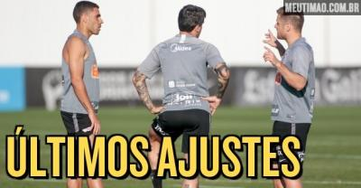 Corinthians encerra preparação para jogo de ida da final do Paulista; saiba provável escalação