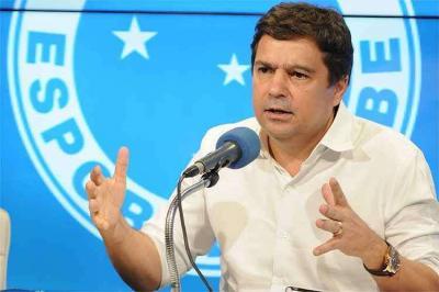 Itair Machado, ex-Cruzeiro, está internado em UTI com COVID-19; veja quadro clínico