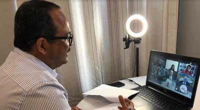 Camaçari: Elinaldo participa de ato de transmissão de posse para reativação da Fafen-BA