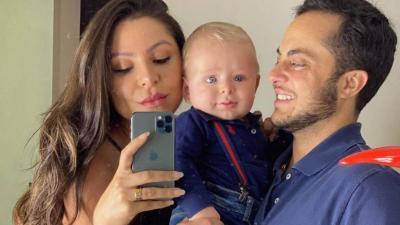 Thammy celebra a família após polêmica em campanha do Dia dos Pais: 'Escolhidos por Deus'