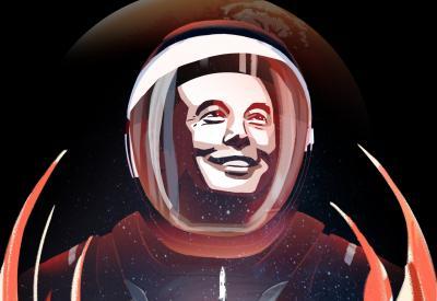 Vamos ter uma base na Lua, diz Elon Musk