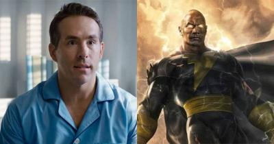 Adão Negro   Ryan Reynolds nega estar no filme e The Rock responde