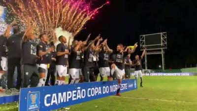 """Após bicampeonato do Ceará, Guto Ferreira celebra elenco: """"Foi uma façanha"""""""