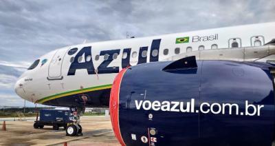 Azul revela aumento de 40% no tráfego aéreo de passageiros em...