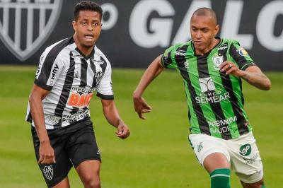 Com vantagem alvinegra, América e Atlético se enfrentam para definir finalista do Mineiro