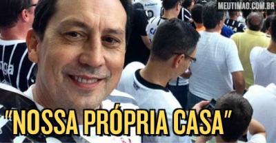 Pai de Danilo Avelar faz relato emocionante sobre a rela��o dele e do filho com a Arena Corinthians
