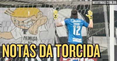 Cássio 'se salva' e é o melhor do Corinthians em noite de avaliações ruins; meia é o pior