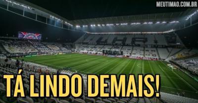 Veja imagens de como está a Arena Corinthians para primeira final do Paulistão