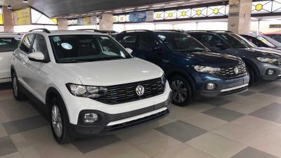 """VW T-Cross lidera vendas diretas com inédito """"G4"""" só de SUVs; veja ranking"""