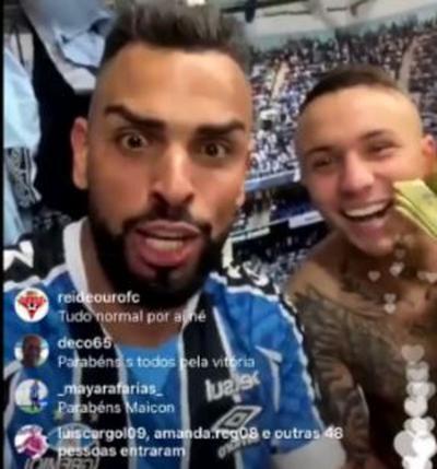 """Maicon revela ameaças por provocação ao Inter, mas não abre mão: """"Tem que aguentar"""""""