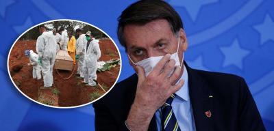 Prestes a bater 100 mil óbitos, Brasil lidera mortes por coronavírus no mundo, aponta OMS