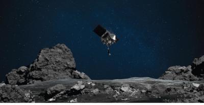 Sonda da Nasa está perto de tocar o solo do asteroide Bennu