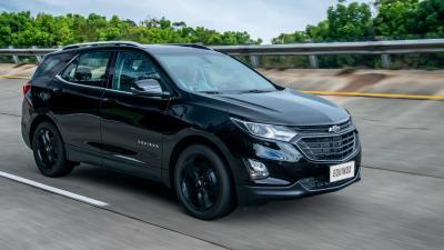 Equinox tem melhor venda desde que estreou no Brasil; veja ranking de SUVs