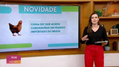 Suposta contaminação em pacote de frango importado do Brasil é 'pouco provável', dizem infectologistas