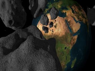 Corpos celestes: meteoritos