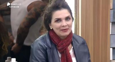 """A Fazenda 12: Luiza Ambiel chama MC Mirella de trans, tenta corrigir e piora situação: """"Eu ia falar travesti"""""""