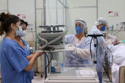 Brasil volta a registrar mais de mil mortes pela covid-19 em 24 horas