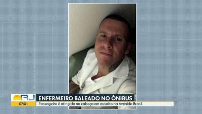 Enfermeiro é baleado na cabeça durante assalto a ônibus na Zona Norte do Rio