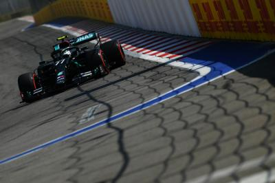 GP da Rússia: Bottas outra vez lidera primeiro treino livre, e Hamilton é só o penúltimo